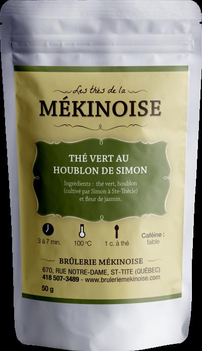 Thé vert au houblon de Simon
