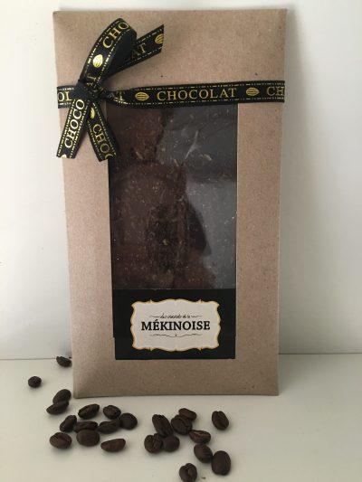 Chocolat Noir aux Éclats de Café